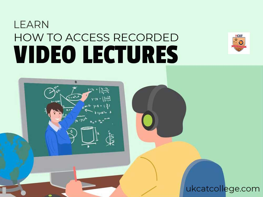 How to Access Recorded Video Lectures?